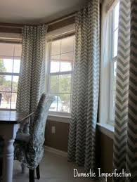 Tab Curtains Pattern Diy Bay Window Curtain Rod Back Tab Curtains Tab Curtains