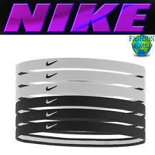 sport headbands nike swoosh sport headbands 2 0 6pk ebay