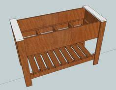 ana white raised planter box make sure you read the comments