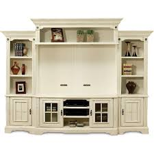 White Shabby Chic Bookcase Wall Units Interesting Living Room Entertainment Wall Units