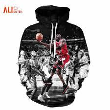hoodie designer alisister fashion hoodies 3d print painting sweatshirt