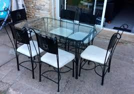chaises en fer forg achetez table verre et fer occasion annonce vente à les adjots 16