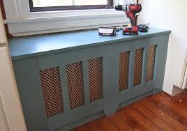 our diy kitchen window seat u0026 radiator cover stately kitsch