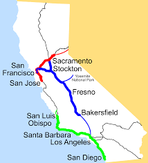 Zip Code Map Fresno Ca by California Amtrak Map California Map