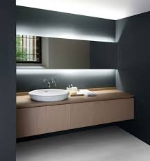 Mirror Ideas For Bathrooms Amusing Bathroom Mirror Lighting 2017 Design Floor Ls For