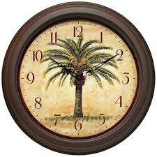 Tropical Home Decor Accessories by Excellent Tropical Wall Clock 50 Beach Themed Wall Clocks Featured
