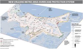New Orleans Usa Map by New Orleans Area Hurricane Levee System Overview Nola Com