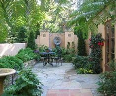 tiny courtyard garden small garden courtyards designs tiny