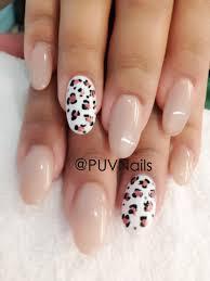 leopard natural gel nails nails 4 pinterest natural gel