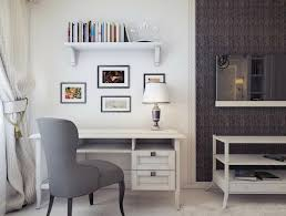 furniture beautiful officedesigns with table lamp and floating