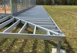 light gauge steel deck framing spantec steel floor roof frame systems bearers joists piers metal