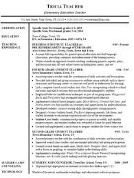 resume for substitute teaching position gallery creawizard com all about resume sample