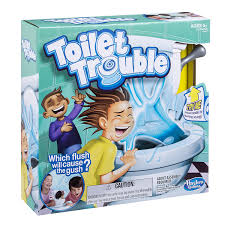 Cleaning Games For Girls Amazon Com Hasbro Games Toilet Trouble Toys U0026 Games