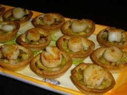canap ap itif dinatoire mini tartelettes fondue de poireaux noix de st jacques recette