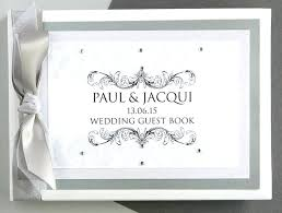 personalized wedding guest book home improvement personalised wedding guest book summer dress