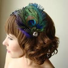 peacock headband peacock feather headband rhinestone band hair accessory