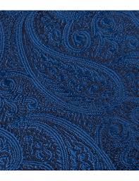 royal blue men s luxury royal blue paisley tie 100 silk hawes curtis