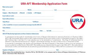 membership application union of rutgers administrators