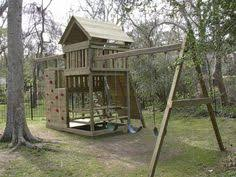 Backyard Playground Plans wee monsters package 1 playset wooden outdoor playset