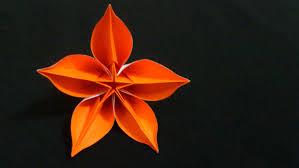membuat hiasan bunga dari kertas lipat cara membuat origami bunga carambola origami bunga dan tanaman
