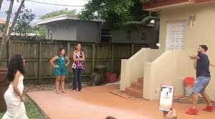 this backyard gender reveal is a home run rtm rightthisminute