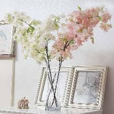fake flowers for home decor decorative flowers 10pc cherry blossoms fake flower for home