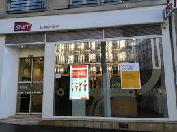 bureau sncf 16 boutique sncf agence de voyages 54 boulevard michel 75006