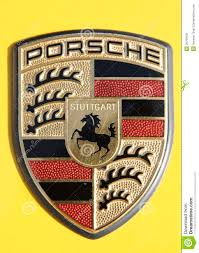 porsche logo porsche logo editorial photo image of logo porsche 26769431