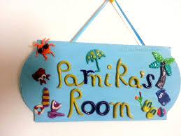 Home Decor Names by Kids Door Name Plates Modelismo Hld Com