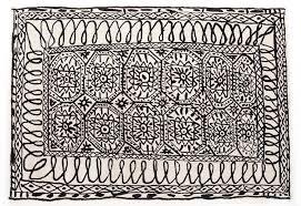 Black Persian Rug Black On White Estambul U2013 Design Rugs U2013 Nanimarquina