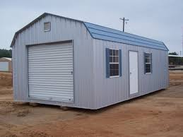 Overhead Shed Door by General Shelters Portable Storage Buildings