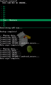 android restore restore your rom on your android phone gadget magazine