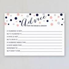 to be advice cards advice for the and groom fill in the blank wedding