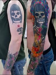 ghost tattoos rework of the misfits crimson ghost tattoo by adam sky resolution