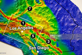 us geological earthquake map california releases earthquake forecast photos and images
