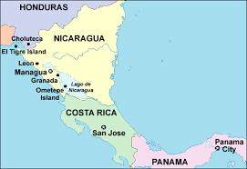 san jose costa rica on map america trek maps