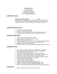 Nursing Job Resume Format by 19 Sample Resume For Staff Nurse Resume Before It