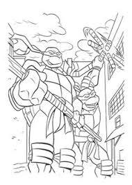 enemy ninja turtle coloring ninja turtle