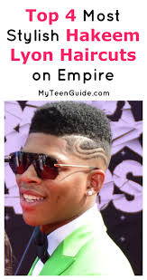 empire tv show hair styles 4 of the the most stylish hakeem lyon haircuts from empire lyon