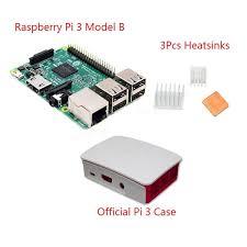 raspberry pi heat sinks 3 in 1 raspberry pi 3 model b official case heat sinks set sale
