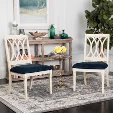 navy blue velvet dining chairs chairs compare prices at nextag
