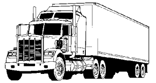 coloring pages for trucks kids activities