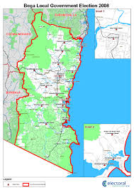 The Shire Map Bega Valley Shire Council By Election 5 December 2009 Nsw