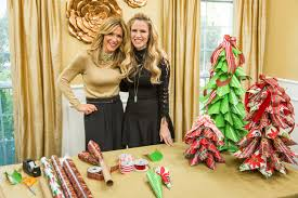 how to home u0026 family diy wrapping paper tree hallmark channel