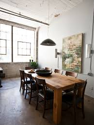 Urban Dining Room by Big Sur Table Houzz
