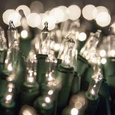 lights 20 clear craft mini lights 4 spacing green wire