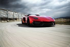 Lamborghini Aventador Front View - lamborghini aventador j 3q front view eurocar news
