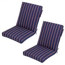 olefin stripe outdoor cushions patio furniture the home depot