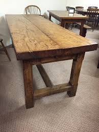 Antique Dining Table Antiques By Design Signed Hastings Solid - Antique kitchen tables