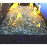 Glass Firepit Element Aquamarine 1 2 Large Pit Glass Walmart